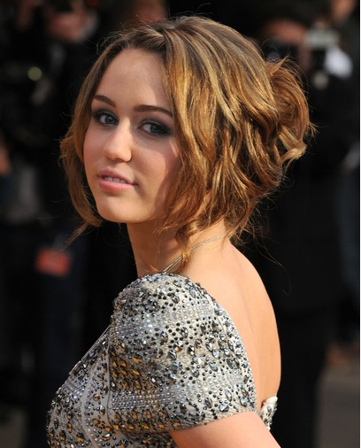 Miley Cyrus Updo Hairstyles 2012 PoPular Haircuts