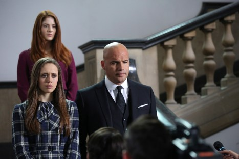 """GUILT - """"What Did You Do?"""" - Is Grace Atwood guilty of brutally murdering her flatmate? The jury deliberates on the Molly Ryan murder trial on the season finale of """"Guilt,"""" airing MONDAY, AUGUST 22 (9:00 - 10:00 p.m. EDT), on Freeform, the new name for ABC Family.(Freeform/Angus Young) DAISY HEAD, EMILY TREMAINE, BILLY ZANE"""