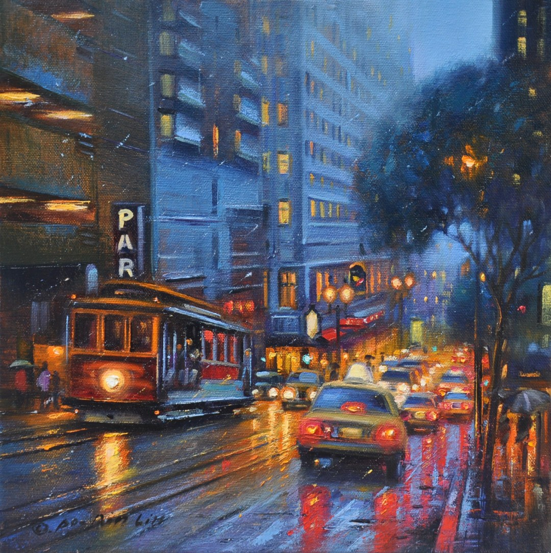 A View on Powell Street, 12x12