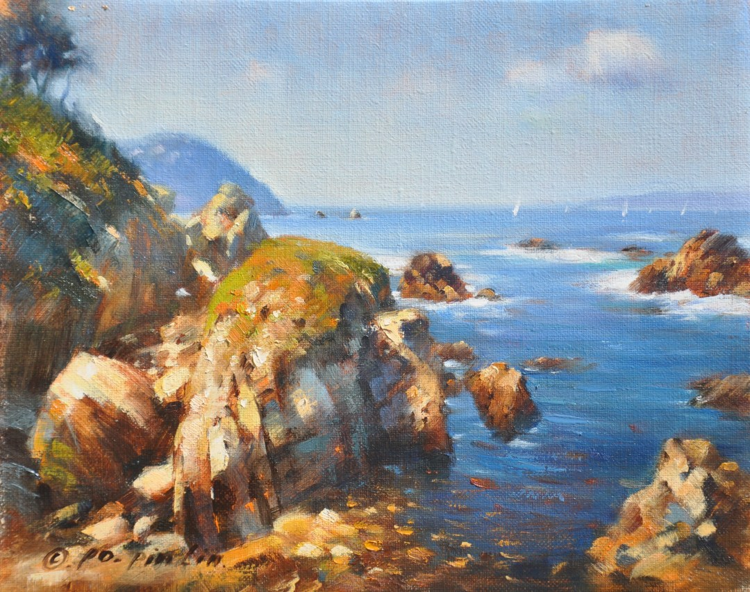 California Coast, 8x10