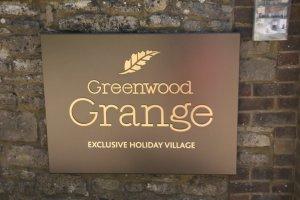 Sign at Greenwood Grange