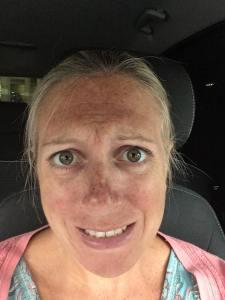 stressed twin mum
