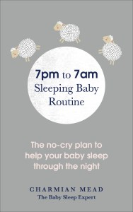 A photo of the book by Charmian Mead, author of The Sleeping Baby