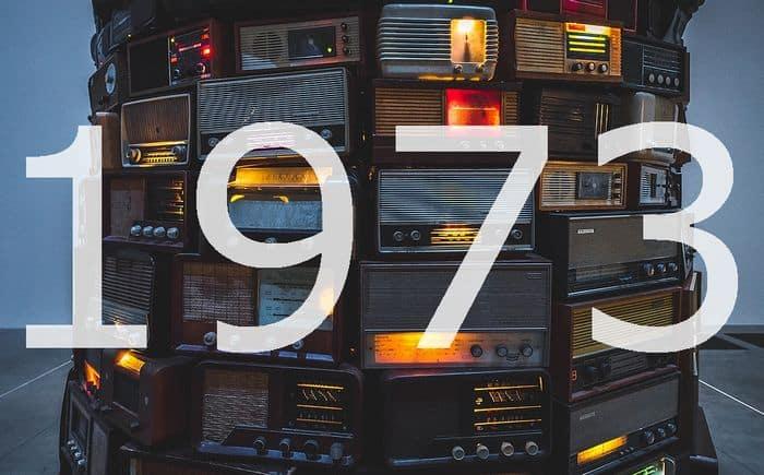 Alte Radios 1973