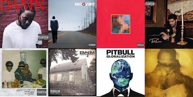 2010er Rap Songs Cover