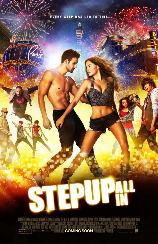 Filmposter: Step Up All In