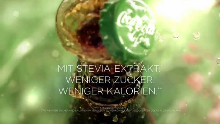 Screenshot aus Coca Cola Life Werbung