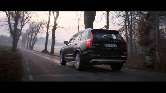 Screenshot aus Volvo Car Deutschland Werbung