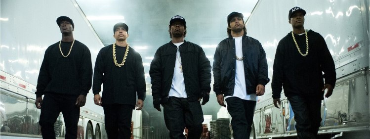 """Filmposter """"Staight outta Compton"""""""