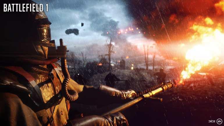 Screenshot aus Battlefield 1 Werbung