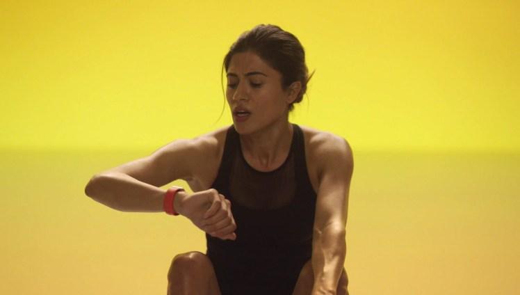 Screenshot aus Apple Watch Werbung