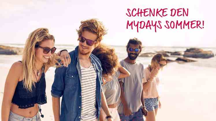 Screenshot aus mydays.de Werbung