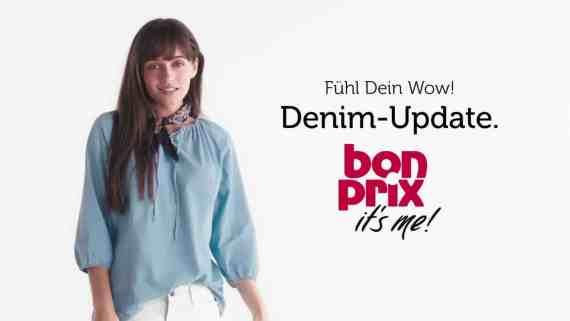 Screenshot aus Bonprix Werbung