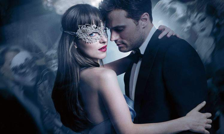 Filmposter Fifty Shades of Grey 2