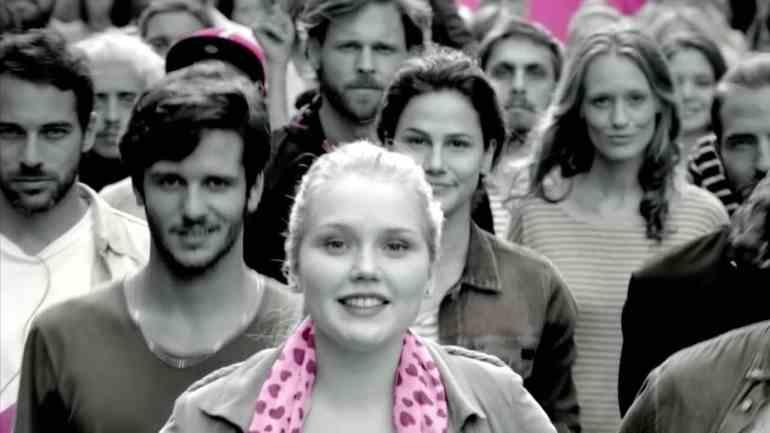 Screenshot aus Telekom StreamOn Werbung