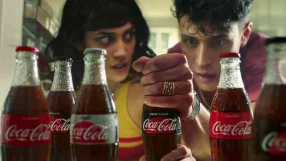 Screenshot aus Coca-Cola Werbung