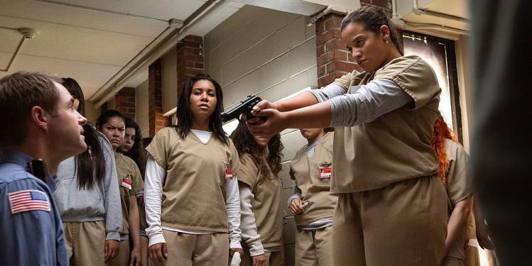 """Bild aus der Netflix-Serie """"Orange is the new black"""""""