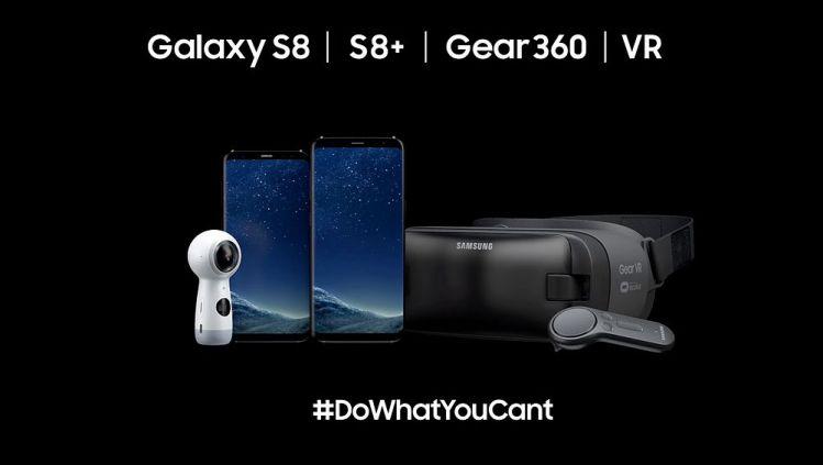 Screenshot aus Galaxy S 8 Werbung