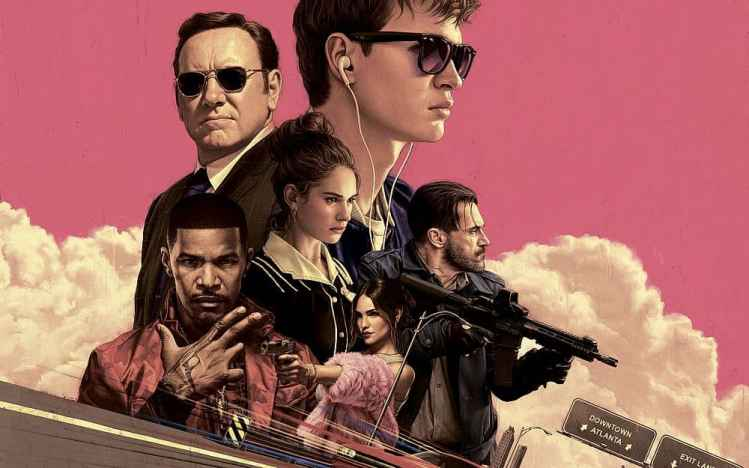 Filmposter Baby Driver
