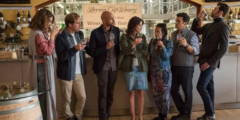"""Bild aus der netflix-Serie """"Friends from College"""""""