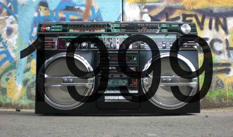 Radio aus den 90er Jahren