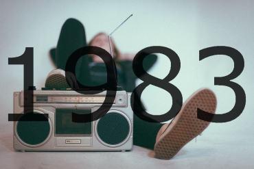 Altes Radio 1983
