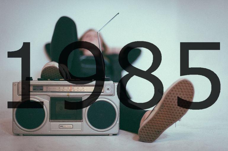 Altes Radio 1985