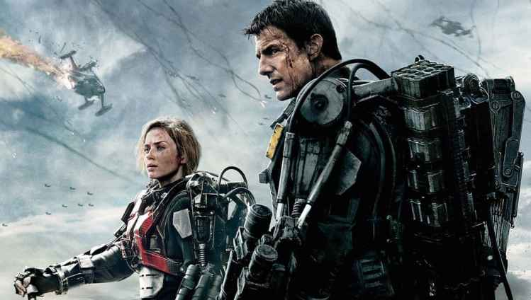 Filmposter Edge of Tomorrow Live Die Repeat