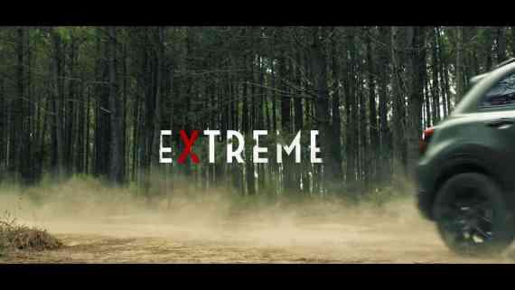 Screenshot aus Fiat 500X Werbung