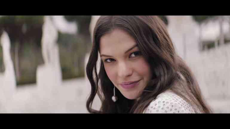 Screenshot aus Laura Biagiotti Roma Werbung