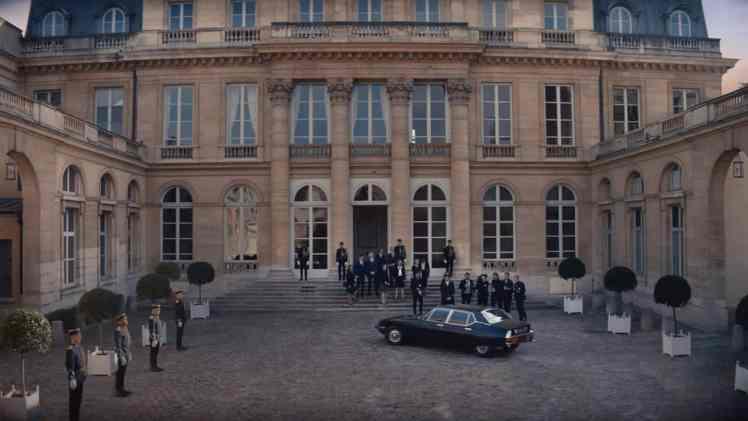 Screenshot aus Jean Paul Gaultier Scandal Werbung