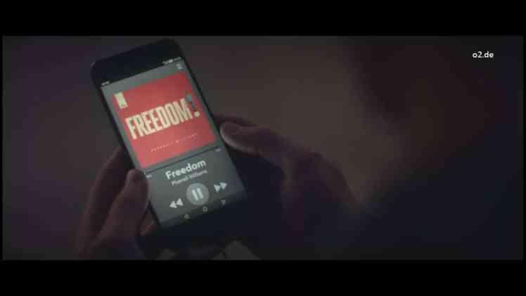Screenshot aus O2 Werbung