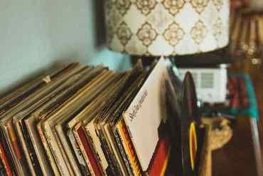 Verschiedene Alben aus den 50er Jahren