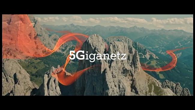 Screenshot aus A1 5Giganetz Werbung