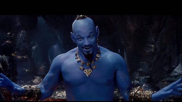 Will Smith als Aladdin