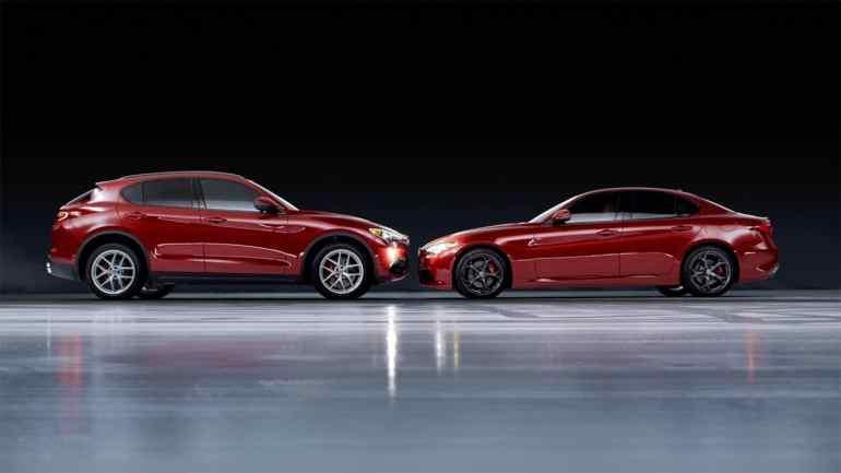 Screenshot aus Alfa Romeo Giulia & Stelvio Werbung