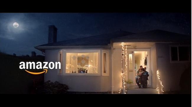 Screenshot aus der Amazon Weihnachten Werbung 2019