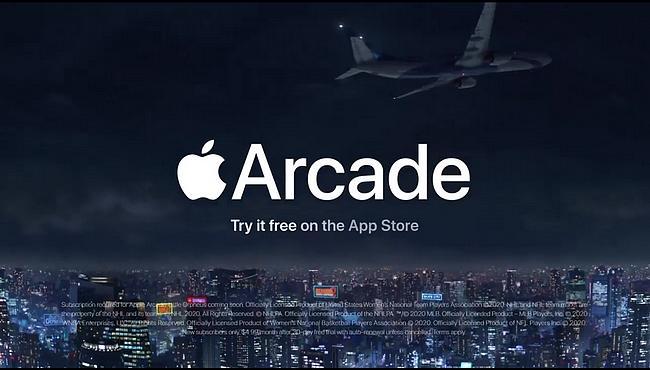 Screenshot aus der Apple Arcade Werbung