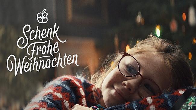 Screenshot aus Apple Werbung zu Weihnachten 2019