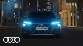 Screenshot aus der Audi A3 Werbung