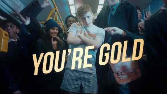 Screenshot aus Axe Gold Werbung