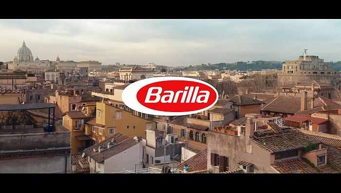 Screenshot aus der Barilla Werbung