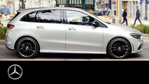Screenshot aus Mercedes-Benz B-Klasse Werbung