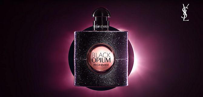 Screenshot aus Black Opium Werbung