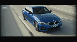 Screenshot aus BMW 3er Werbung