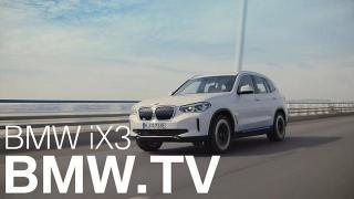 Screenshot aus BMW iX3 Werbung