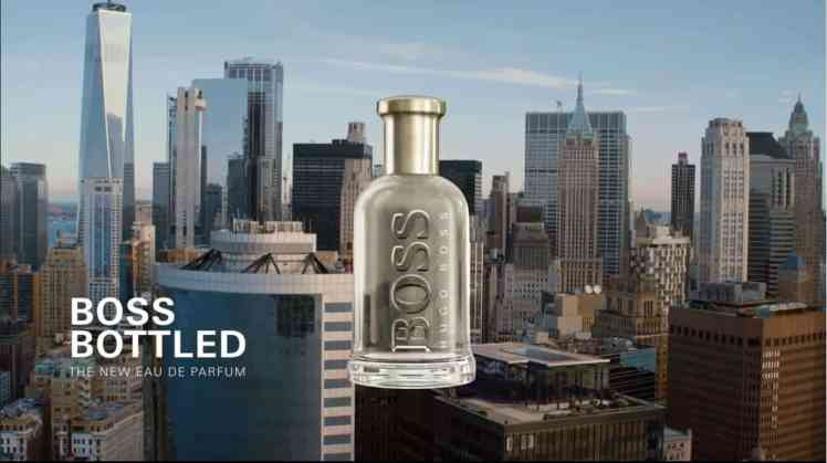 Boss Bottled Werbung