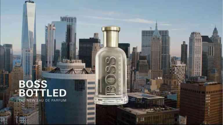 Boss Bottled Werbung