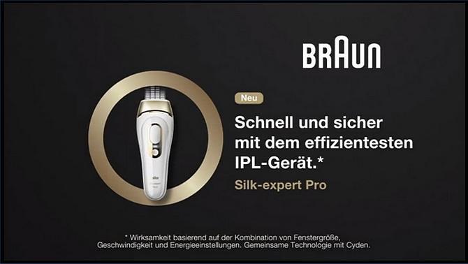 Braun IPL-Gerät