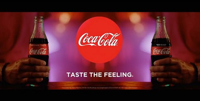 Screenshot Coca Cola Werbung